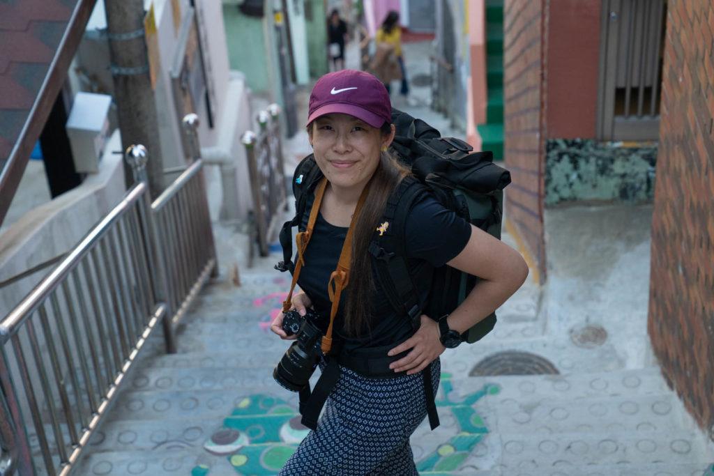 Adrienne in Busan, Korea