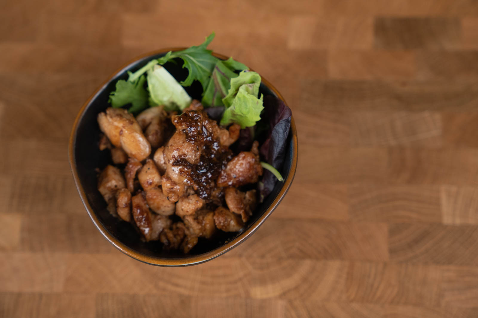 soy sauce marinaded chicken