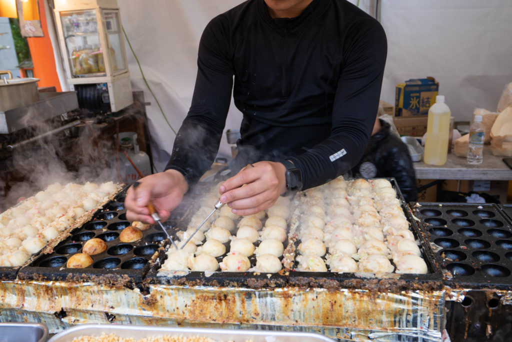 takoyaki, Kyoto