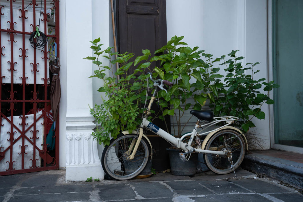 Bicycle, Wat Arun, Bangkok, Thailand