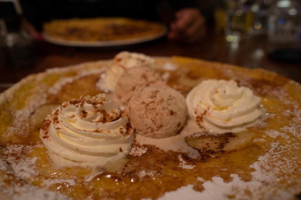 apple pancake, Pancake Bakery, Amsterdam