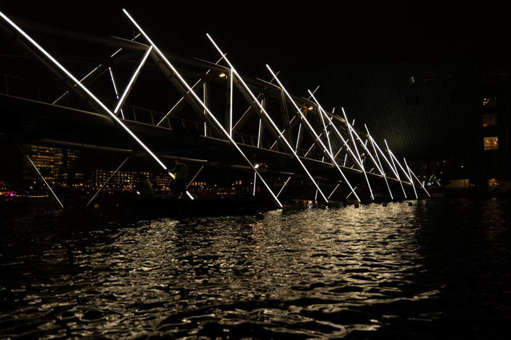Amsterdam Light Festival installation
