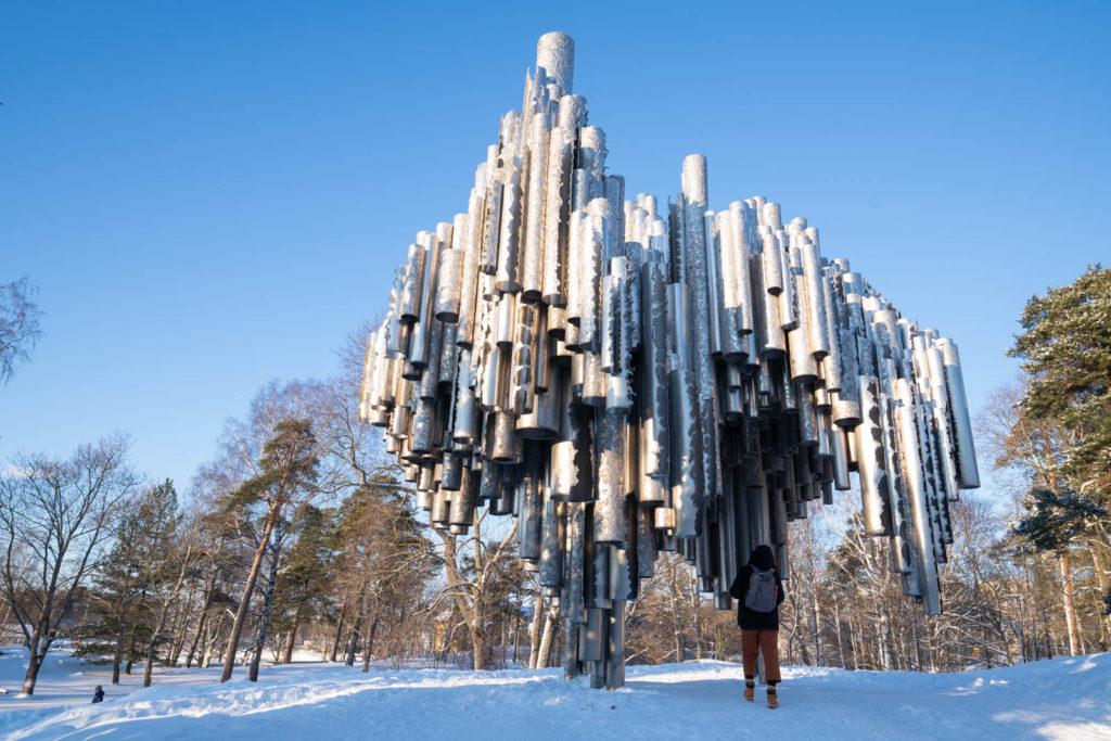 Sibelius Monument, Sibelius Park (Sibeliuksen puisto), Helsinki