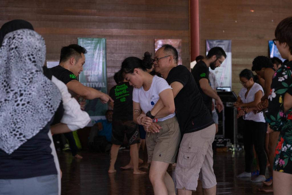 Brazilian Jiu-Jitsu for Self Defense with Justin Lo, Dewan Lagenda, Rainforest World Music Festival 2019, Kuching, Malaysia