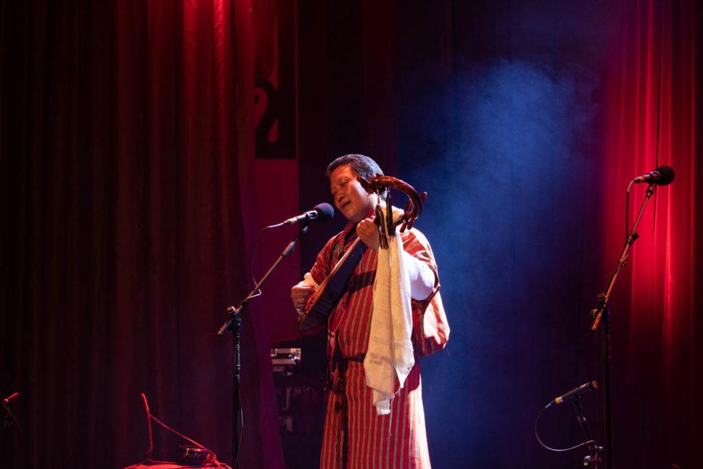 Druk Folk Musician, Theater Stage, Rainforest World Music Festival 2019, Kuching, Malaysia