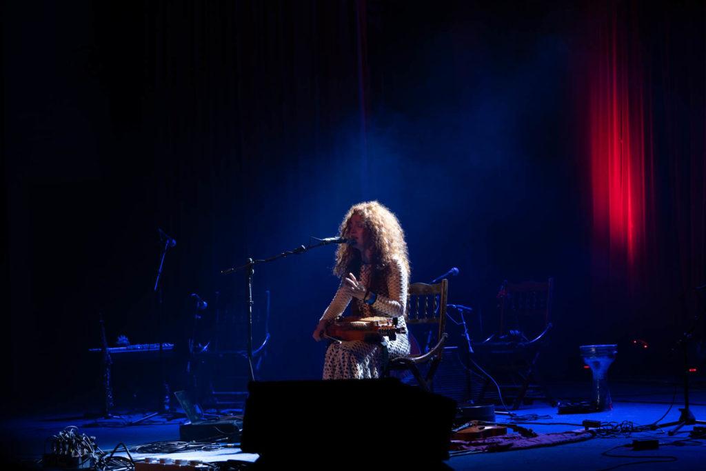 Ana Alcaide, Theater Stage, Rainforest World Music Festival 2019, Kuching, Malaysia
