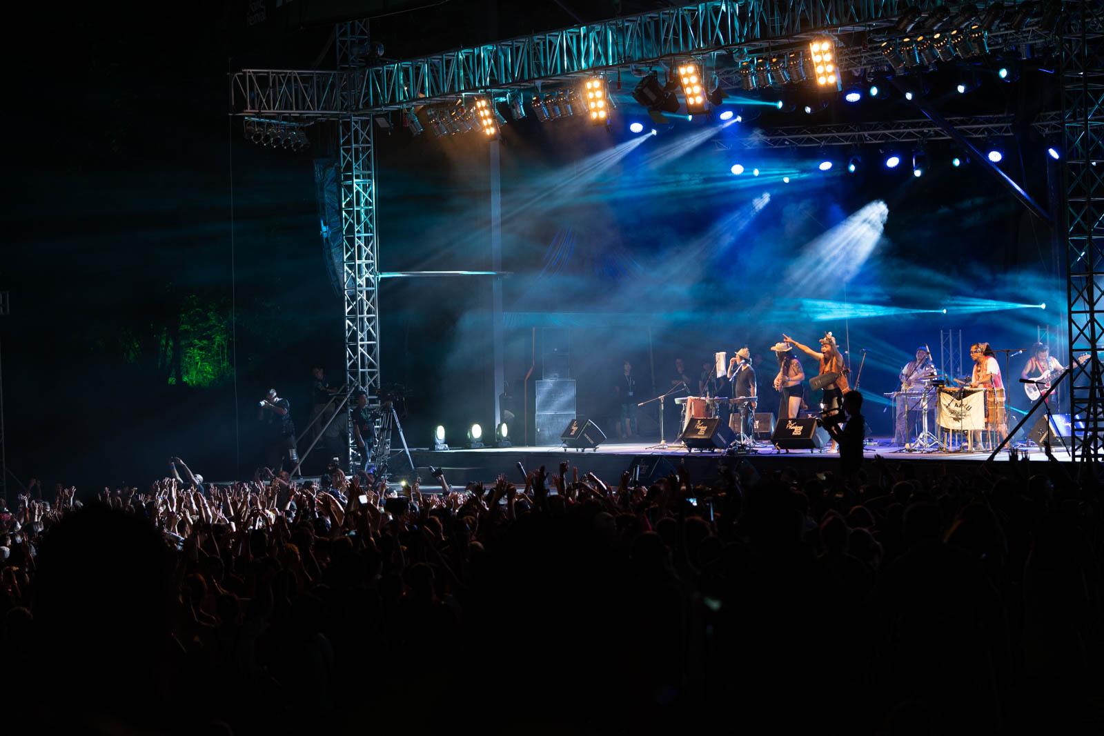 Rainforest World Music Festival 2019, Jungle stage.