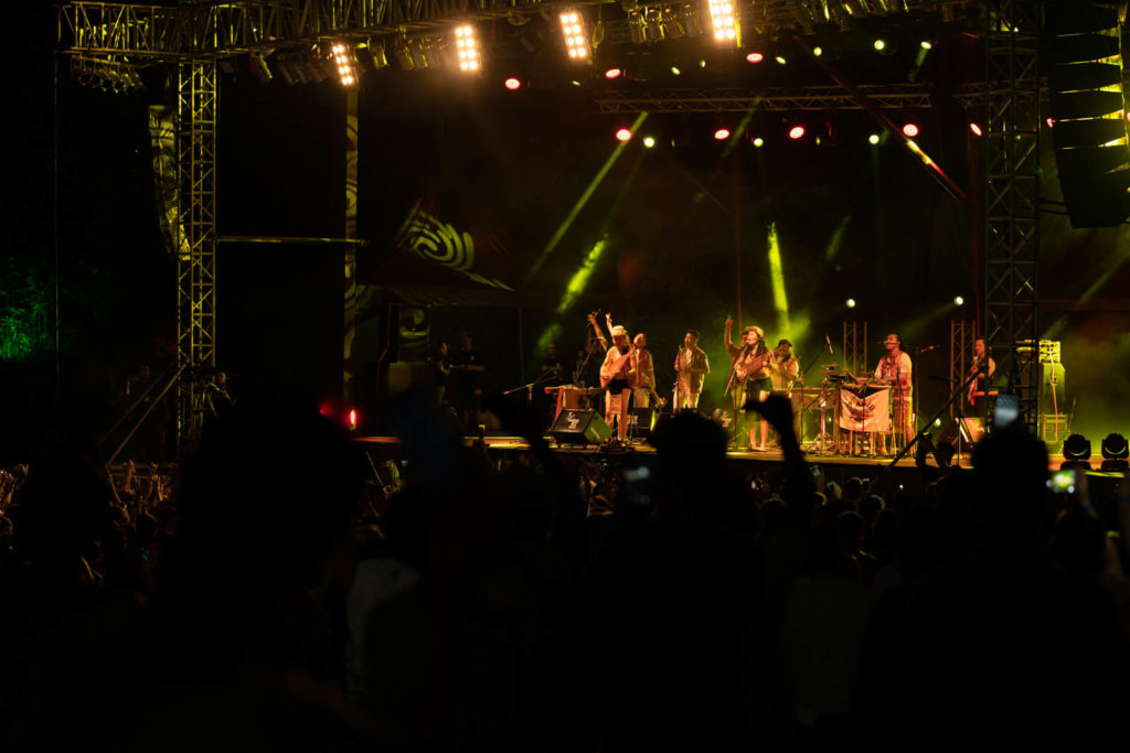 At Adau, Jungle Stage, Rainforest World Music Festival 2019, Kuching, Malaysia