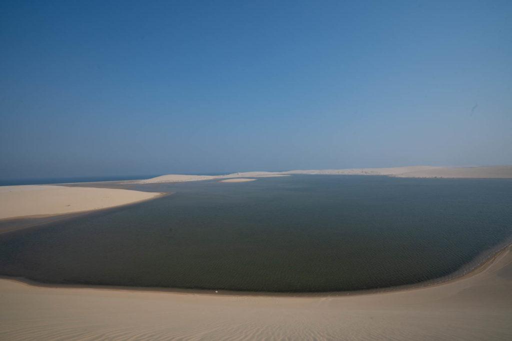 Sand dunes of Mesaieed, Qatar