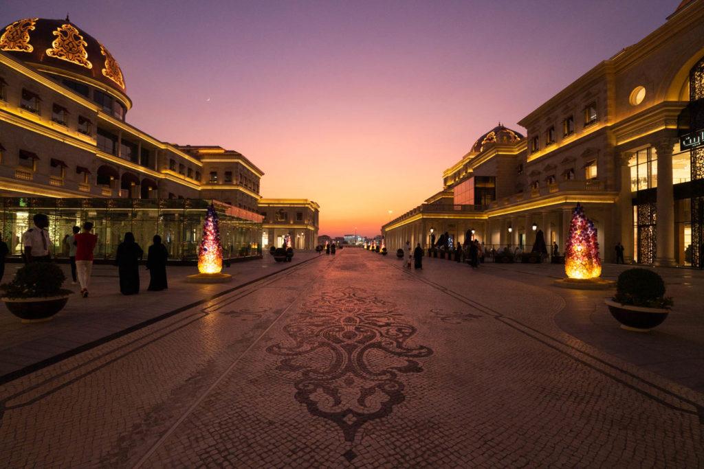 Sunset at Katara Cultural Village, Doha, Qatar
