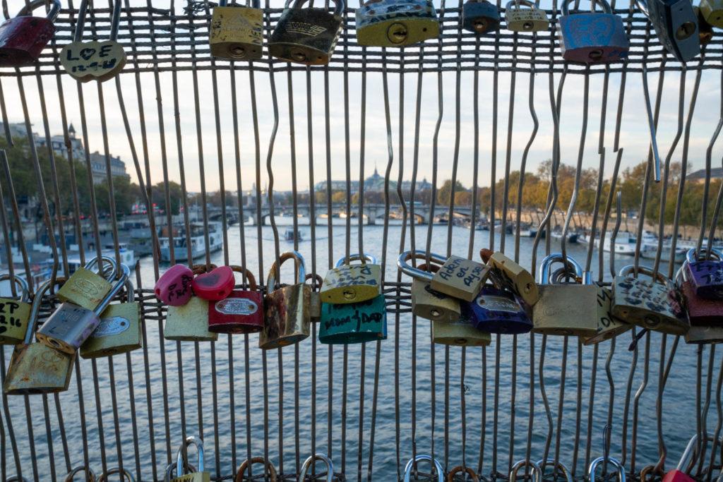 locks bridge, Paris, France