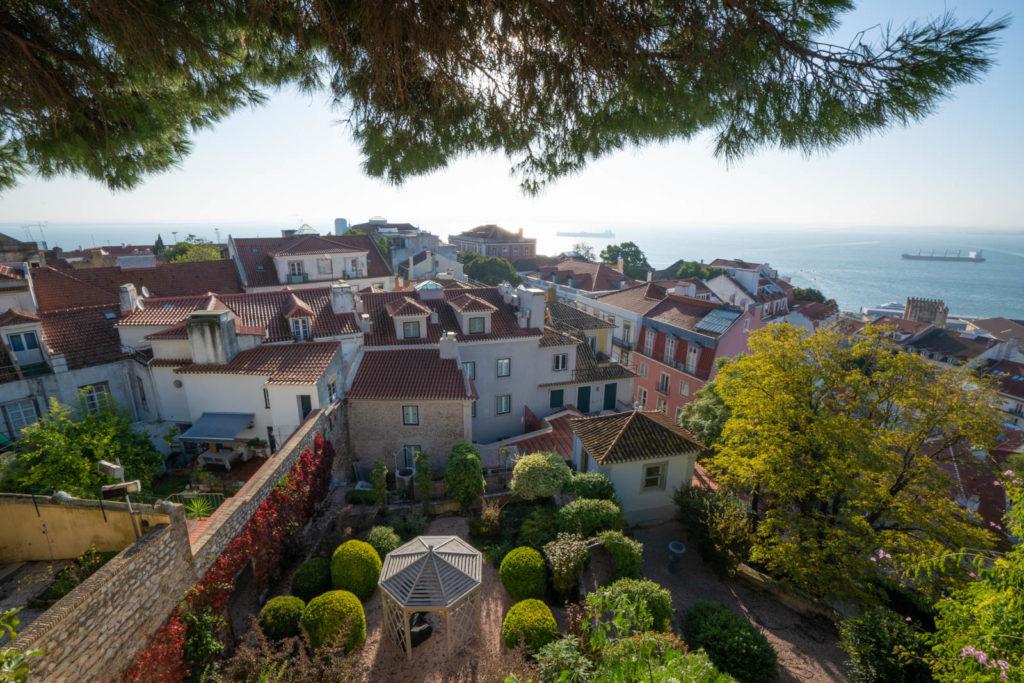 View from Castelo de São Jorge, Lisbon