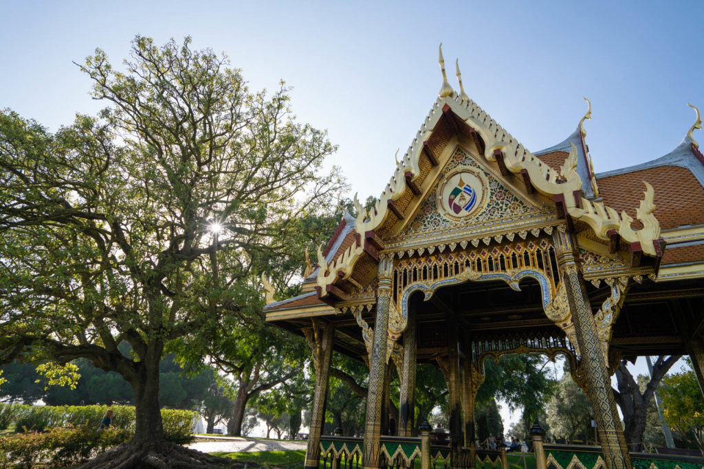 Thai Pavilion, Jardim de Belém