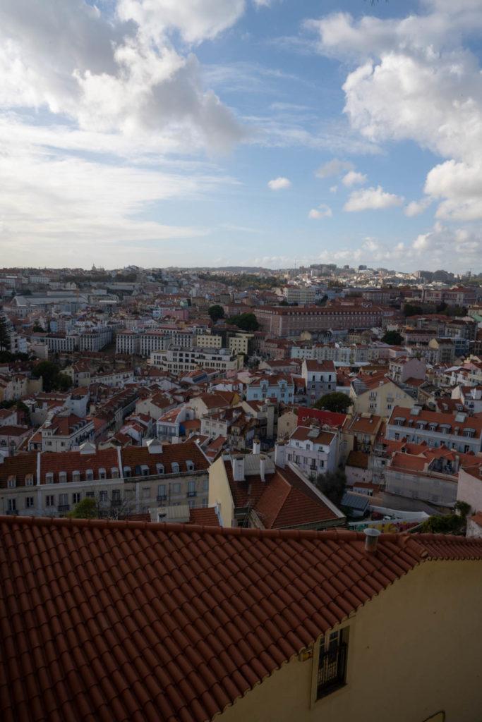 View from Miradouro Sophia de Mello Breyner Andresen