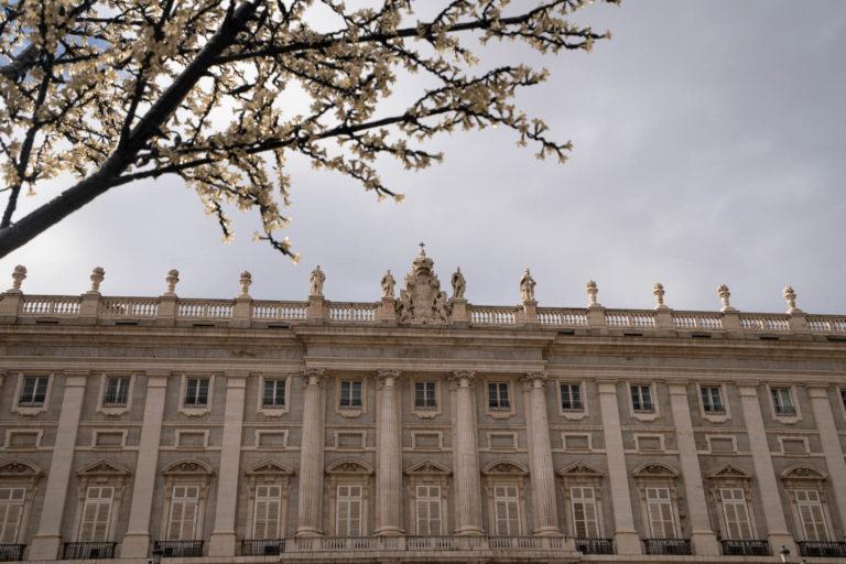 Plaza de la Armería, Madrid, Spain