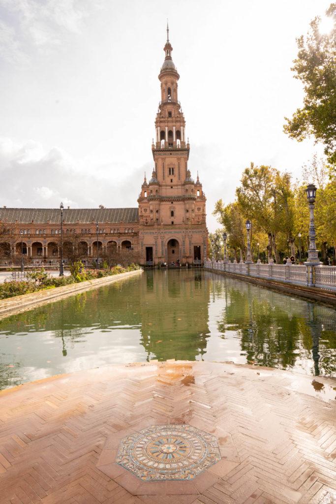 Plaza de España, Parque de Maria Luisa, Seville, Spain
