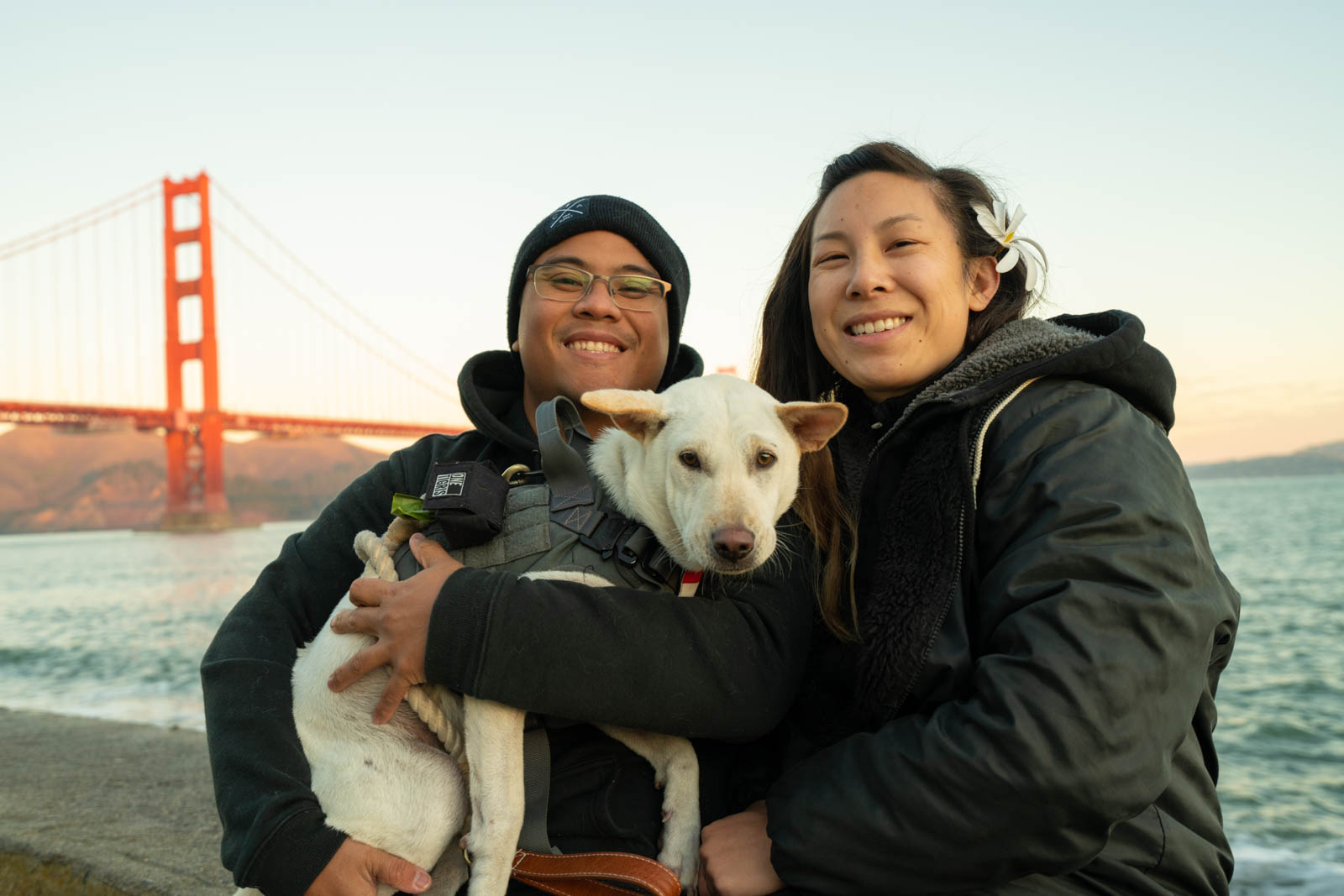 Carlienne and Kacang in San Francisco photo