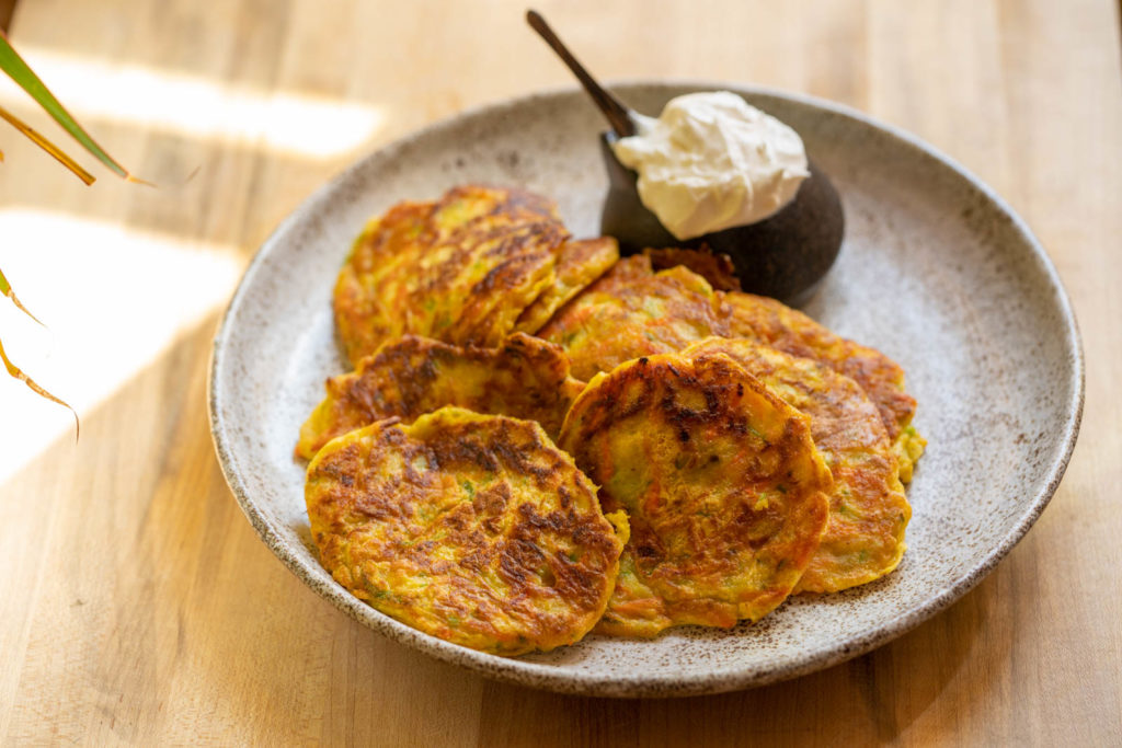 chayote cakes