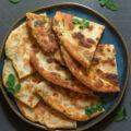 moringa green onion pancakes