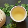 fresh moringa tea