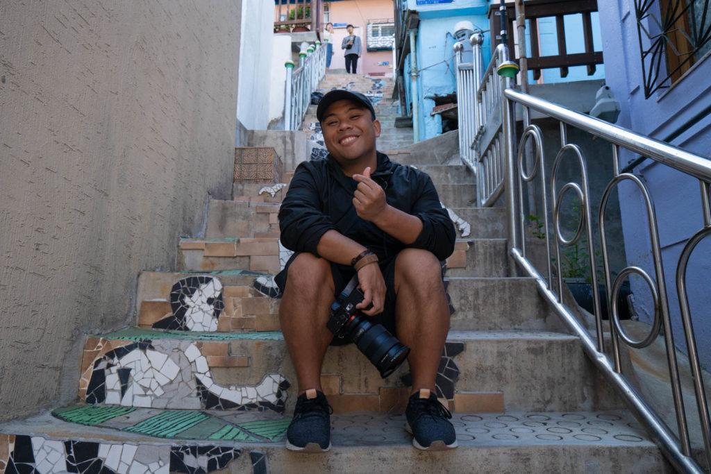 Carl in Busan, Korea