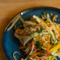 Korean Radish & Mango Salad