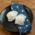 Homemade mochi made with rice