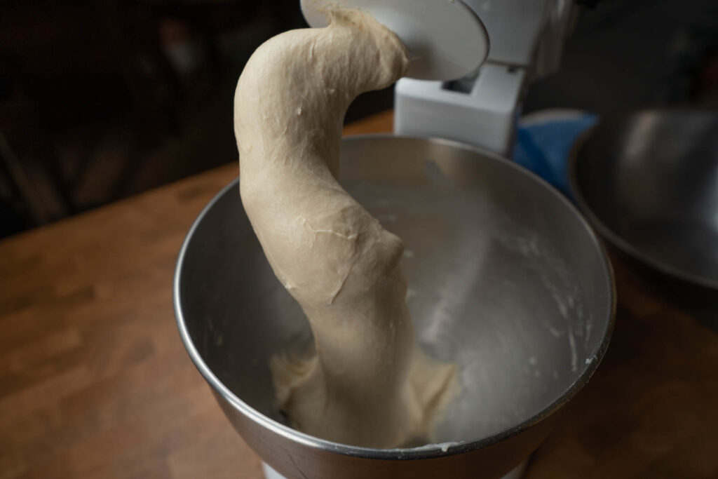 Kitchen Princess Bamboo: Tangzhong - dough is smooth