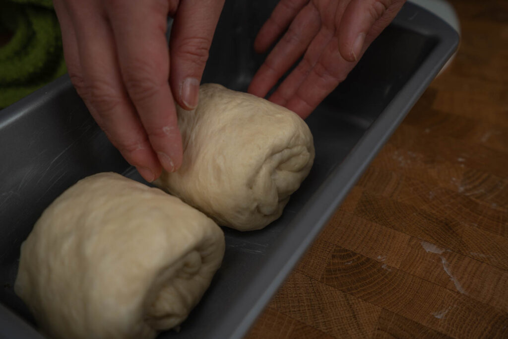 Umi's Baking: dough in pan