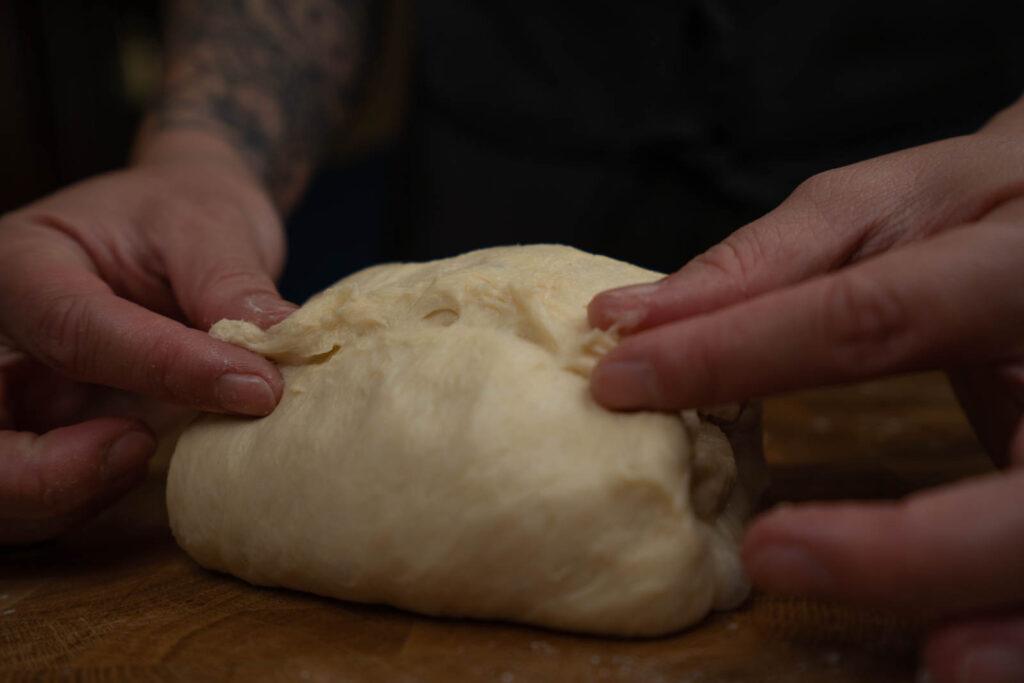 Josh Weissman's Milk bread - form loaf
