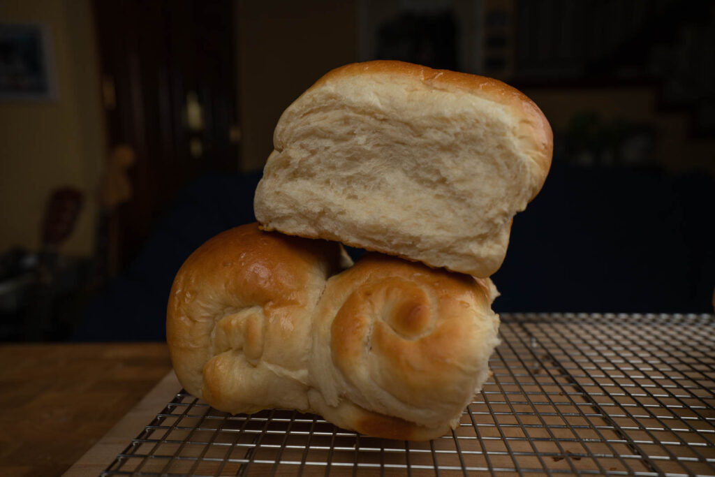 Umi's Baking: tangzhong milk bread