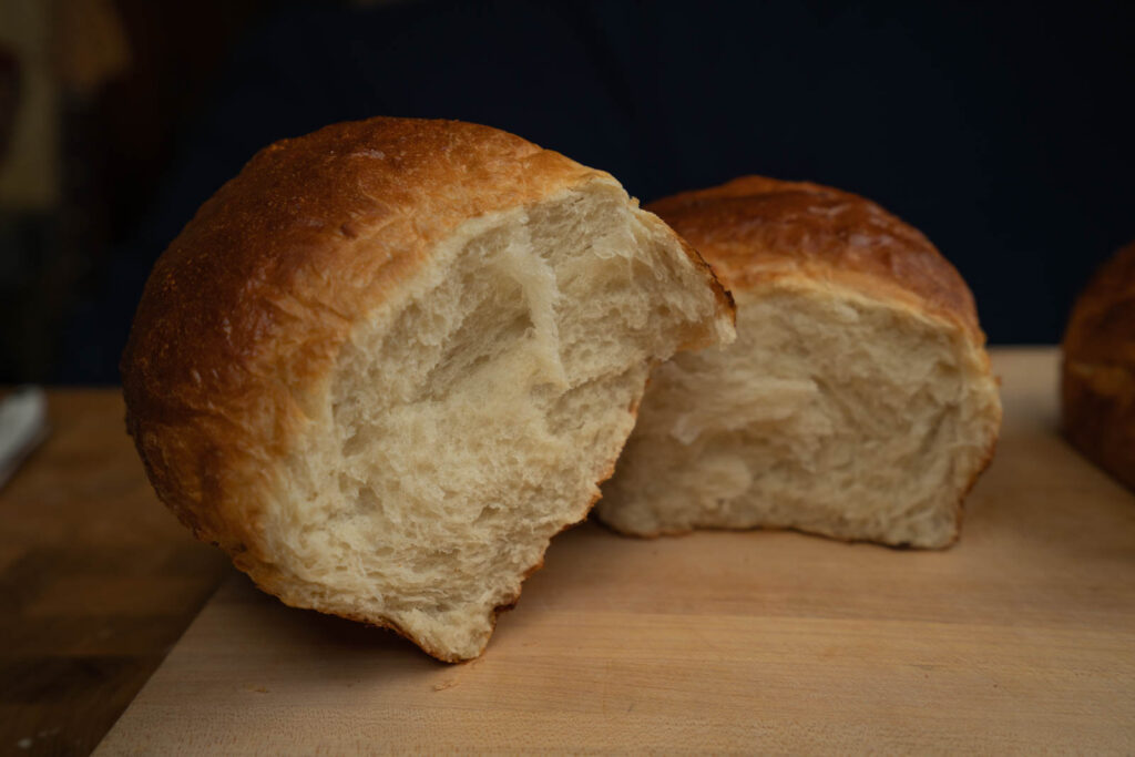 Kitchen Princess Bamboo: Tangzhong loaf