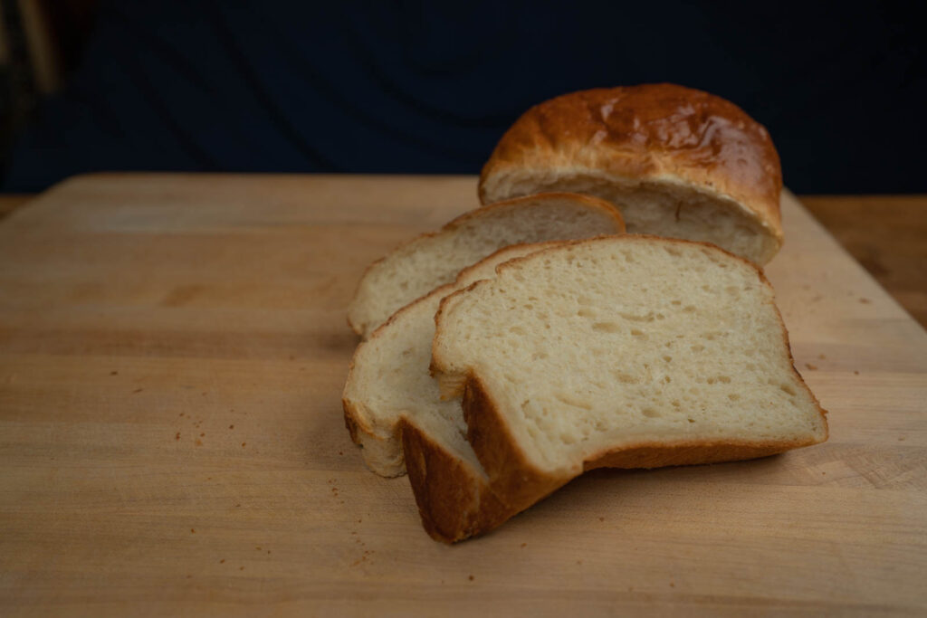 Kitchen Princess Bamboo: Yudane loaf