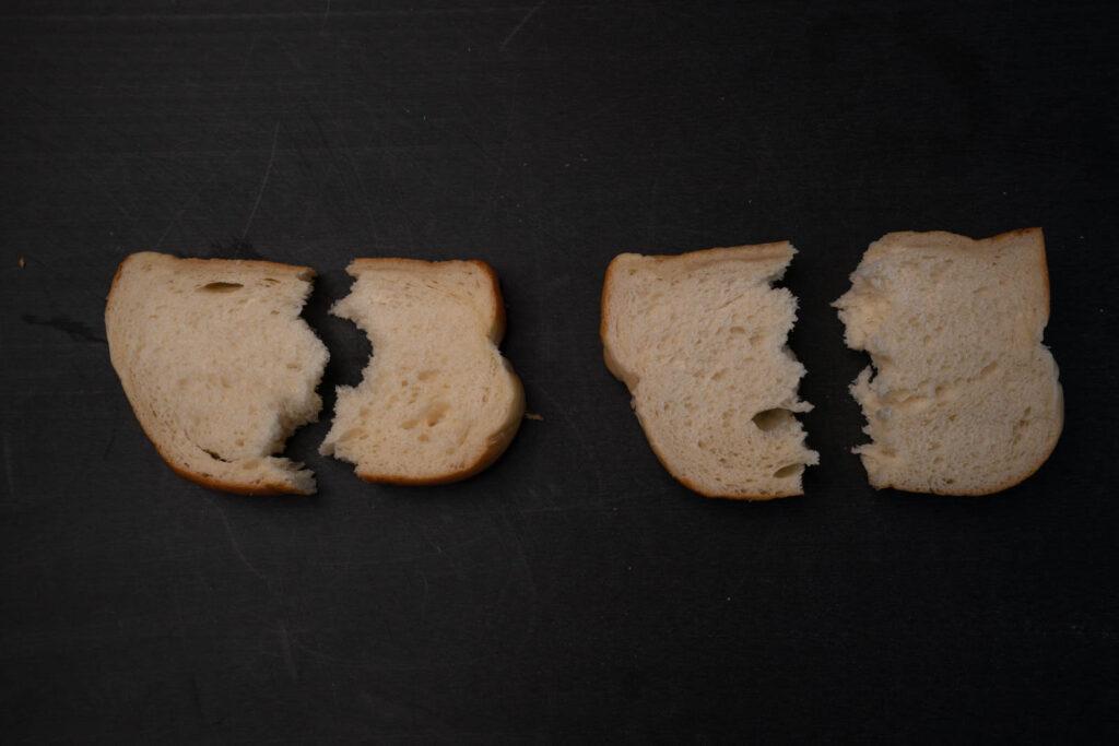 Umi's Baking hokkaido tangzhong milk bread comparison