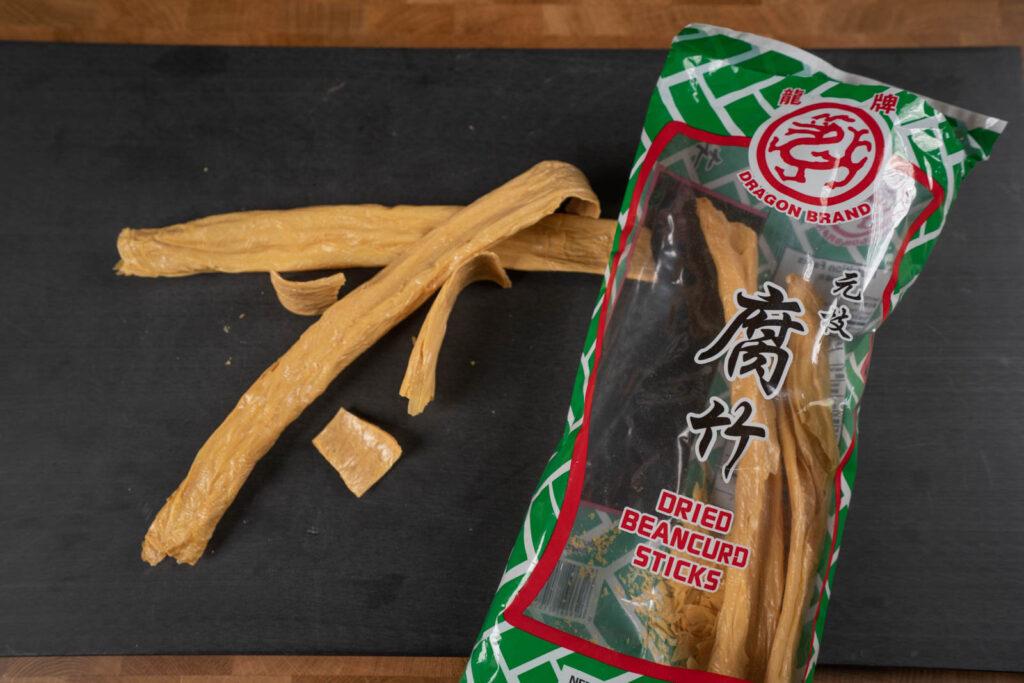 dried bean curd/tofu skin
