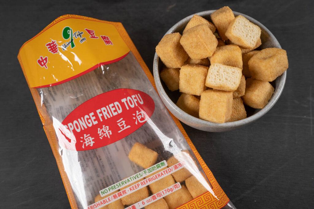 Sponge Fried Tofu