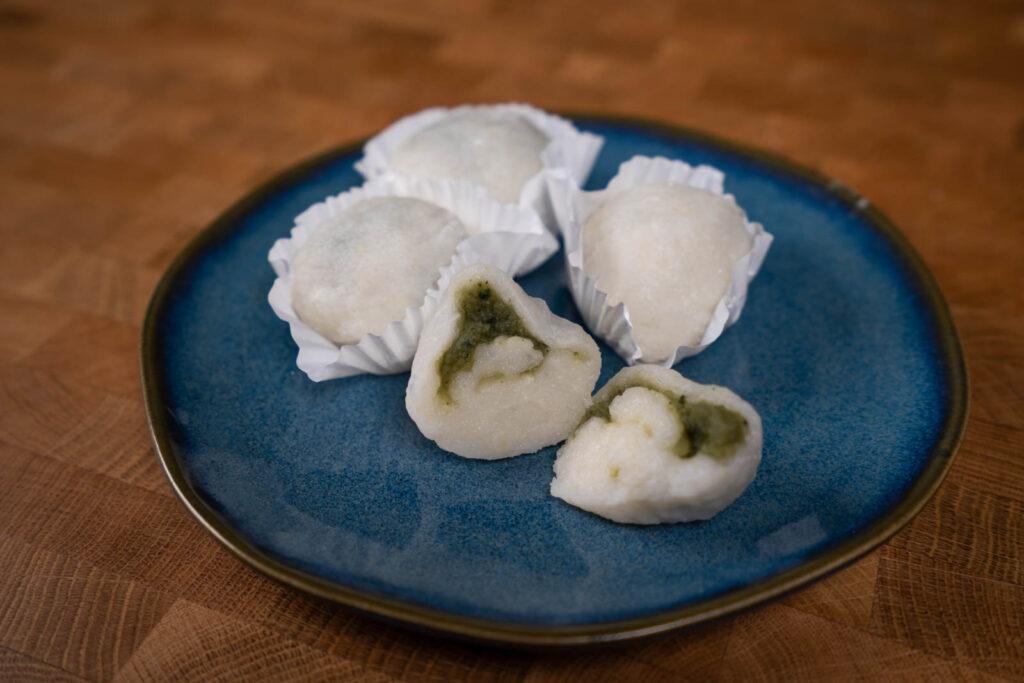 Homemade Daifuku mochi
