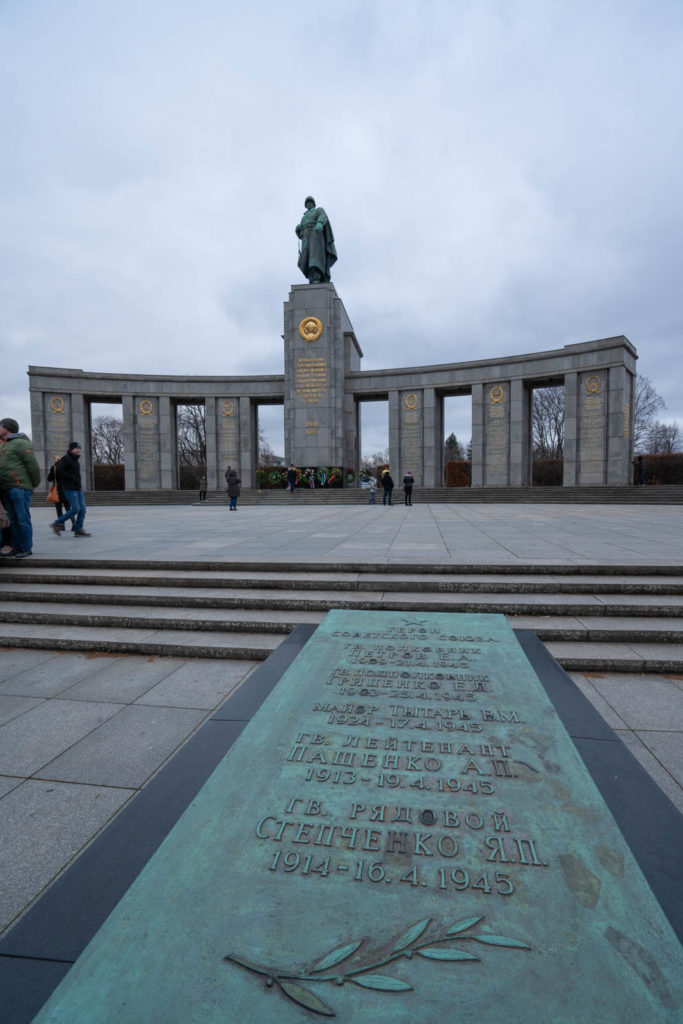 Soviet War Memorial Tiergarten, Berlin, Germany