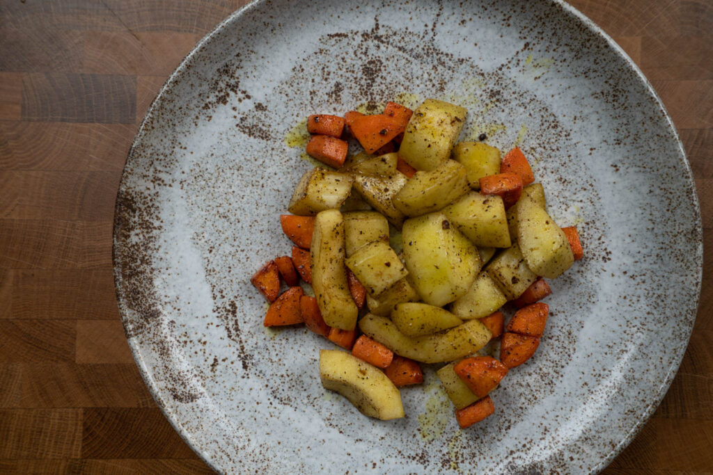 Spiced Stir Fry Samba Cucumber