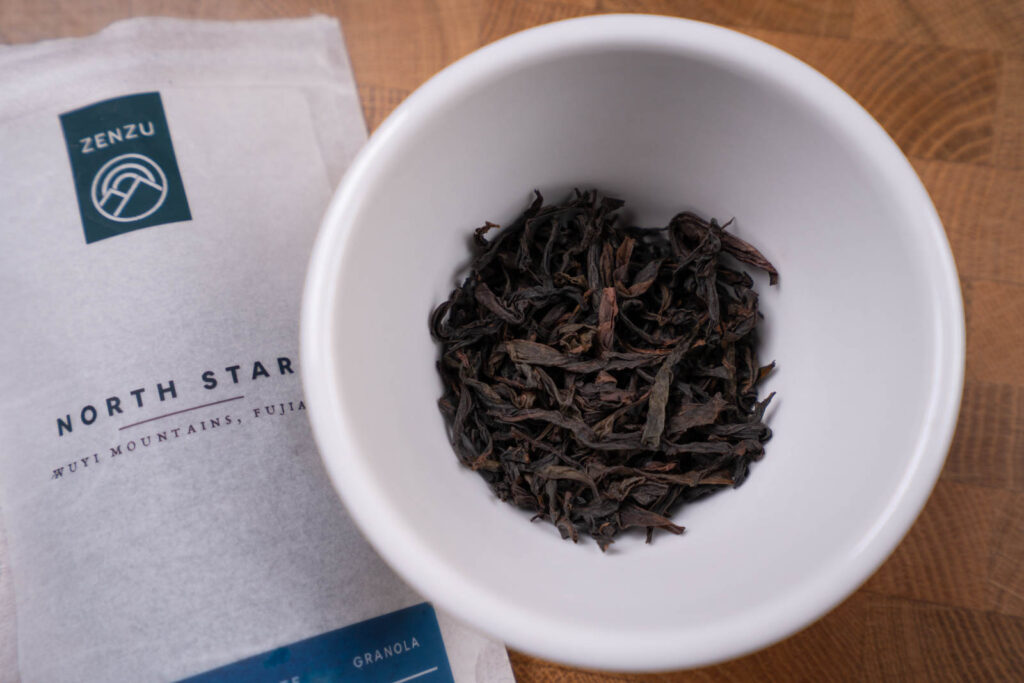 roasted oolong North Star from Zenzu Tea