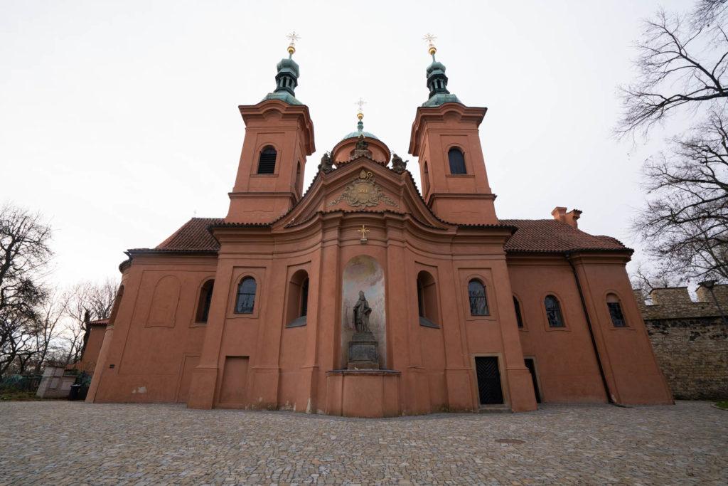St Lawrence Church (Katedrální chrám sv. Vavřince), Prague