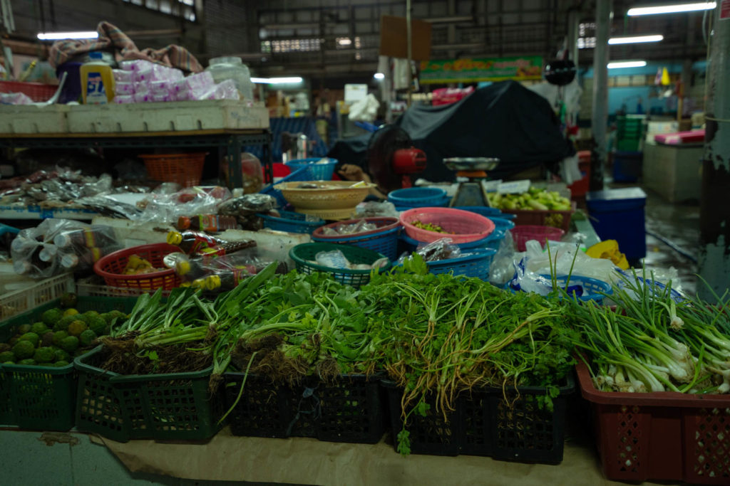Vegetables, Silom Market, Bangkok, Thailand