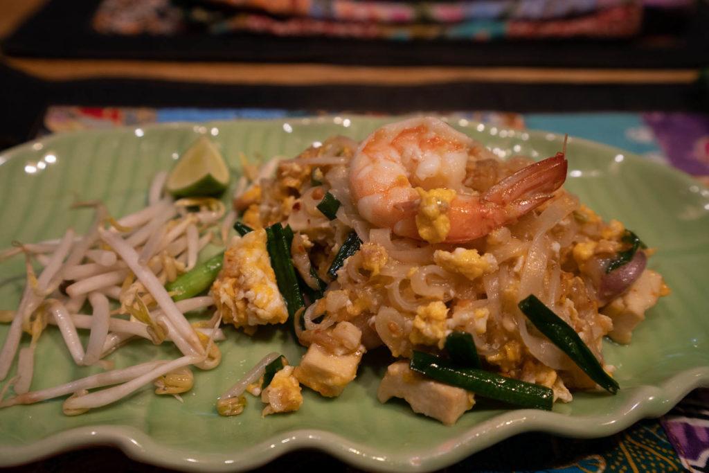 Pad Thai, Silom Thai Cooking School, Bangkok, Thailand