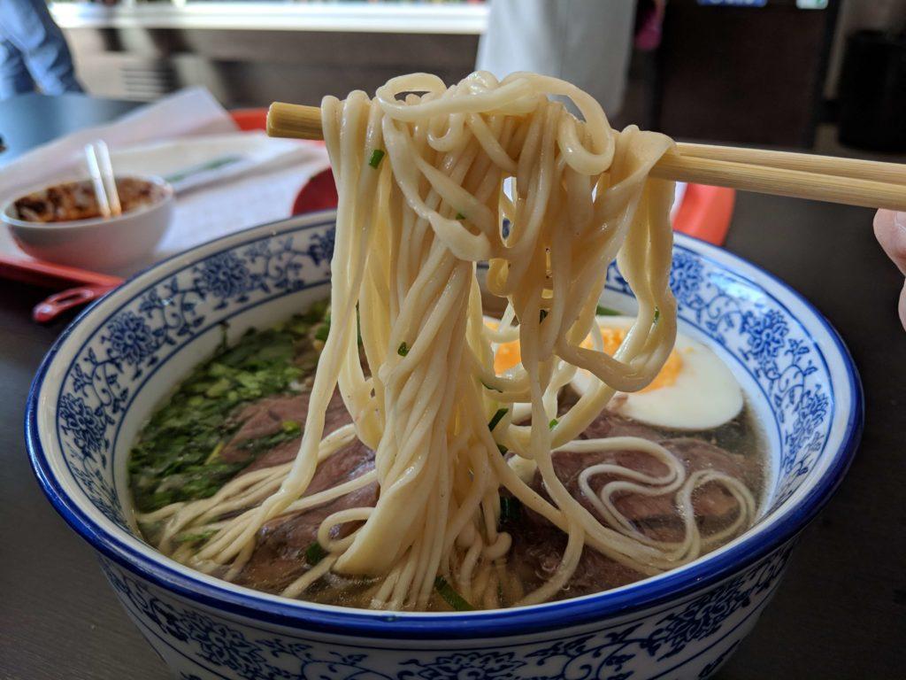 Beef Noodle Soup, Noodle Delight 8, Lisbon