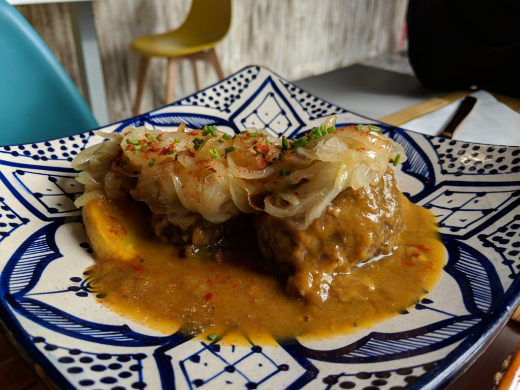 Pork Cheeks, Arte y Sabor, Seville, Spain