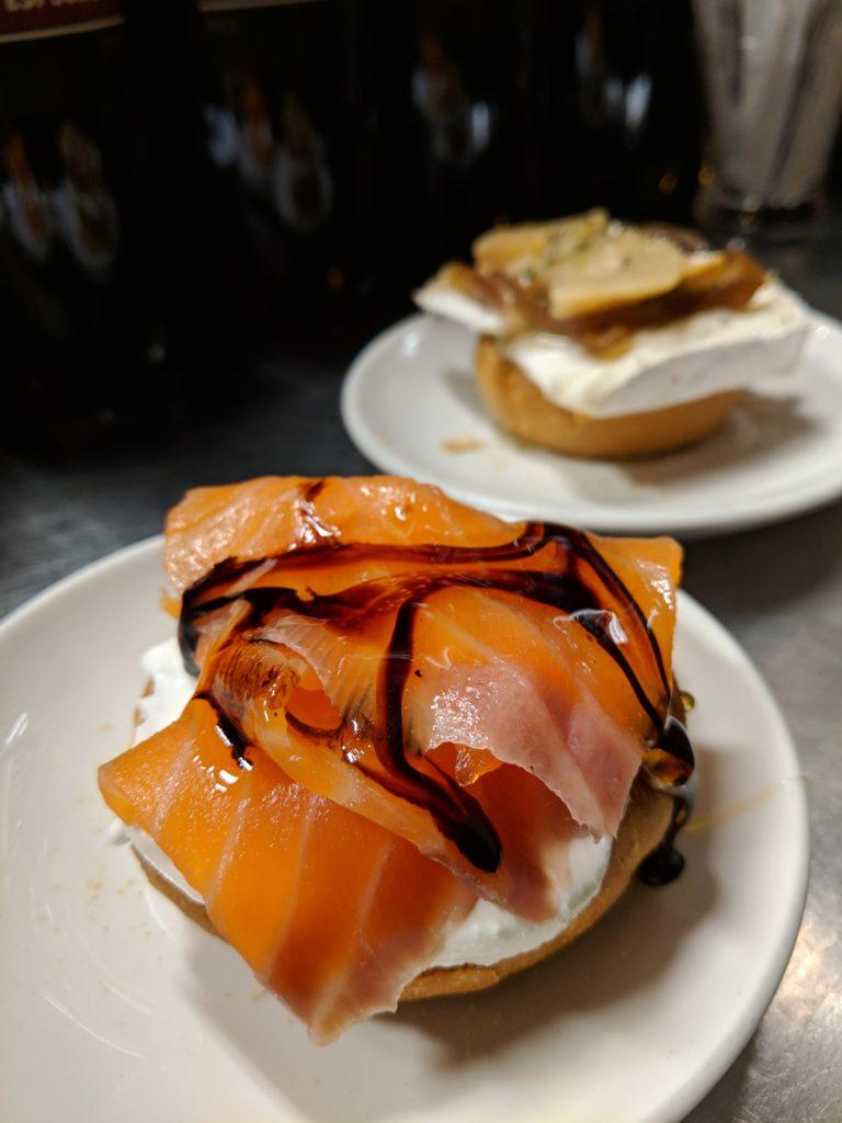 Salmon & Cheese, Quimet y Quimet