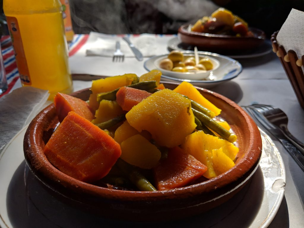 Tagine, restaurant El kasbah, Chefchaouen, Morocco
