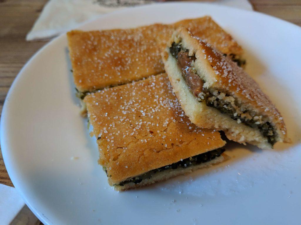 sweet Swiss chard pie, Chez Pipo