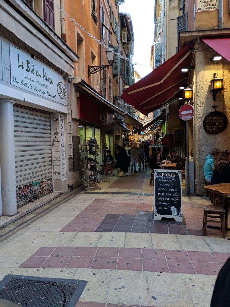 Rue Pairolière, Nice, France