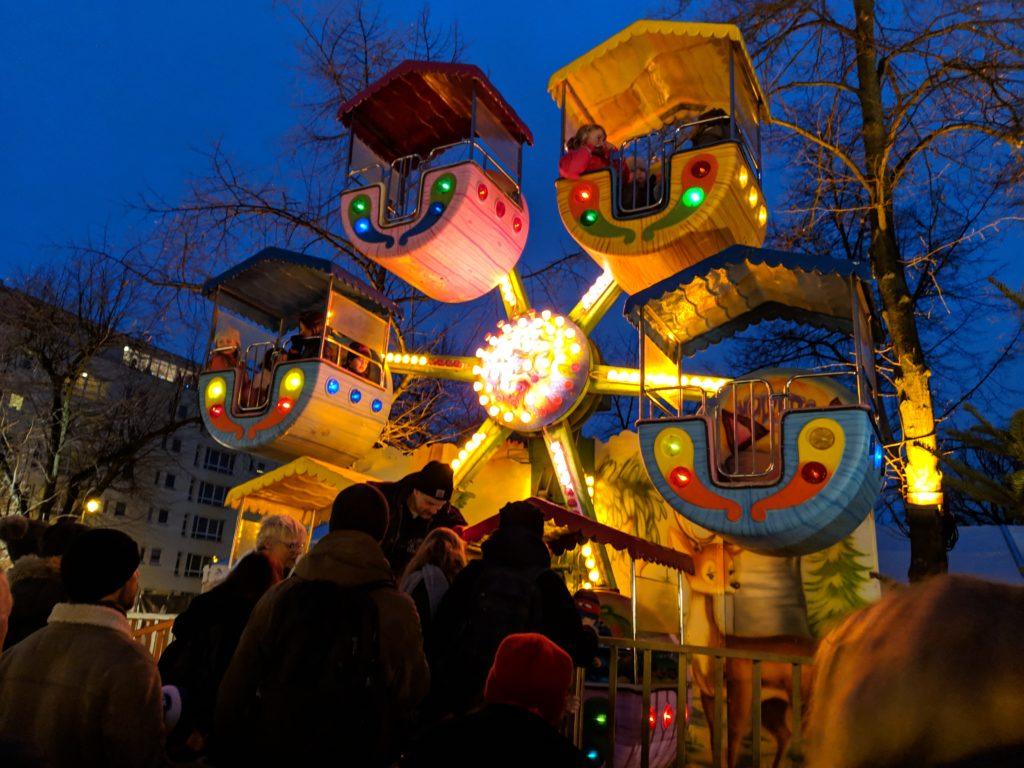 Christmas Market at Charlottenburg Palace